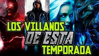 The Flash - Villanos de la Tercera temporada