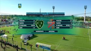 Sarmiento Junin vs Arsenal de Sarandi full match