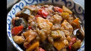 РАТАТУЙ Запеченные Овощи Овощной Тиан Как приготовить #РАТАТУЙ Рецепт(Ratatouille)