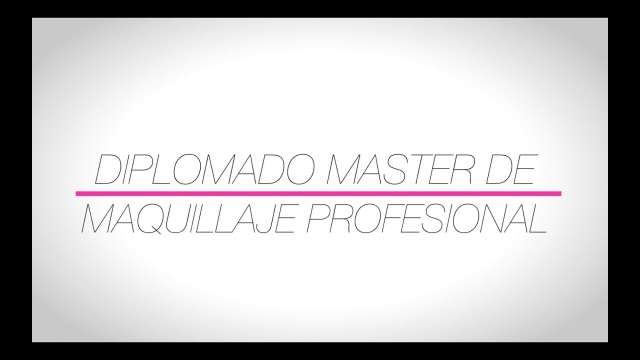 master de maquillaje profesional