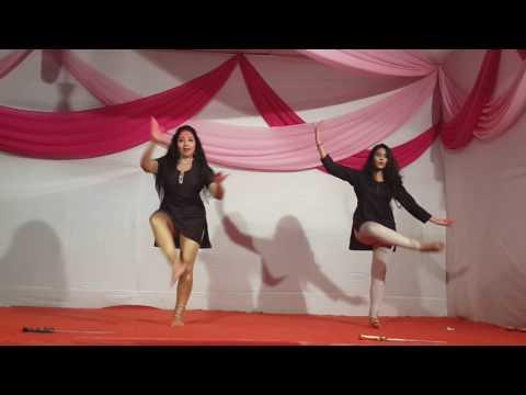 Geeta Bangard & Ria Bangard performing on Song: Hey Ganaraya from ABCD2