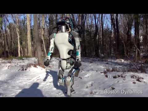 """Робот """"Boston Dynamics"""" Фрагмент из жизни! (много мата)"""