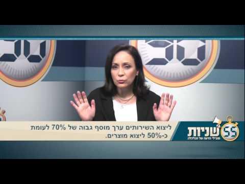 90 שניות עם מובילי הדעה בכלכלה, והפעם: ענף ייצוא השירותים בישראל בעליה מרשימה.