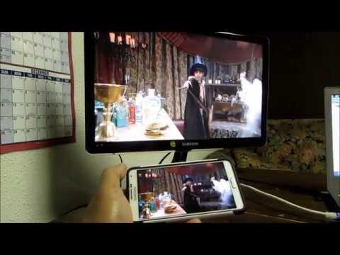 SAMSUNG WIFI All SHARE CAST HUB.. Wireless HDMI Display Adapter