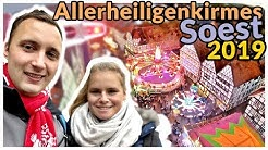 Die größte Altstadt-Kirmes in Europa! | Allerheiligenkirmes Soest 2019 | Vlog #171