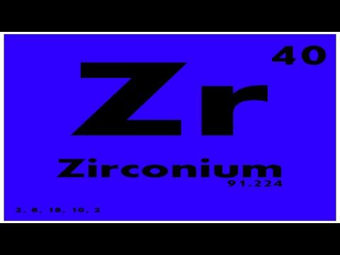 Study guide 40 zirconium periodic table of elements youtube study guide 40 zirconium periodic table of elements urtaz Images