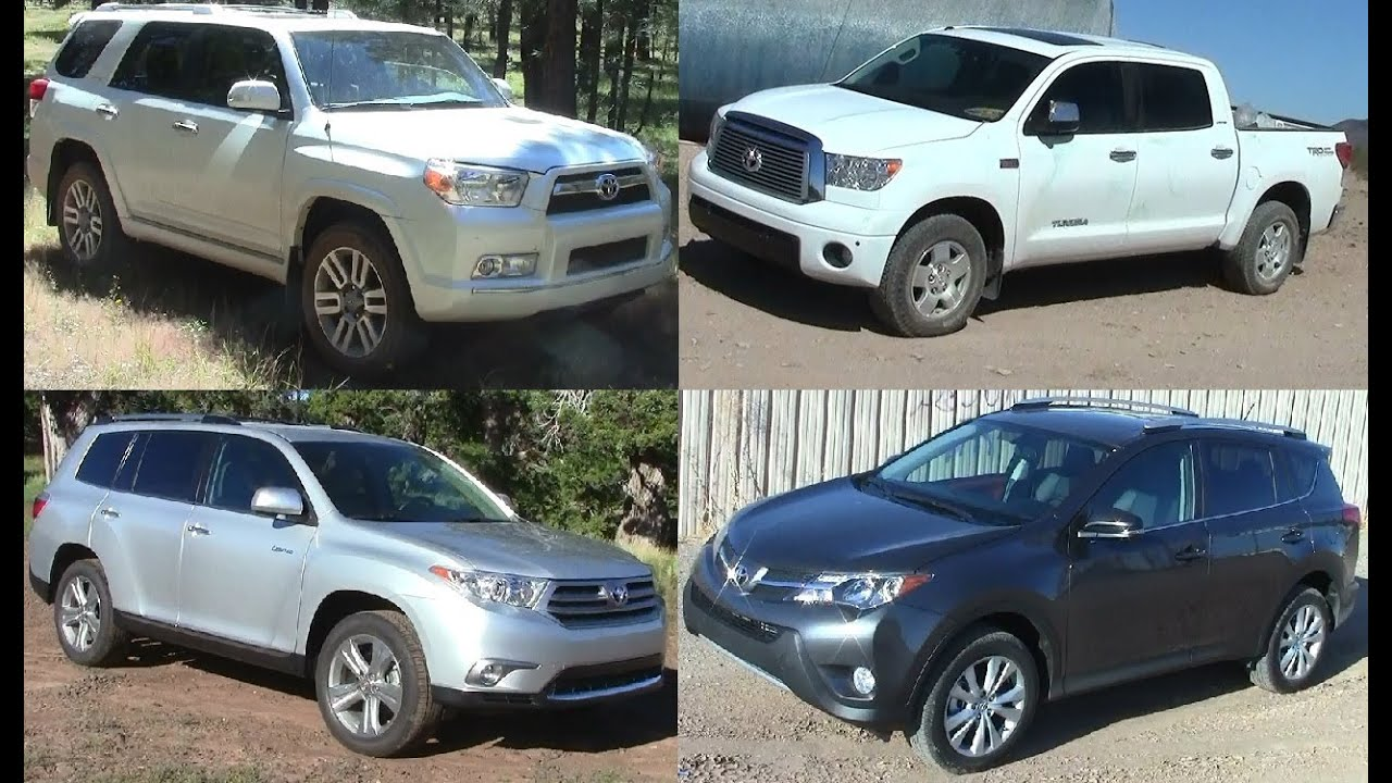 Exceptional Toyota Off Roaders: 4 Runner, Tundra, Highlander, U0026 Rav4 Comparison Review