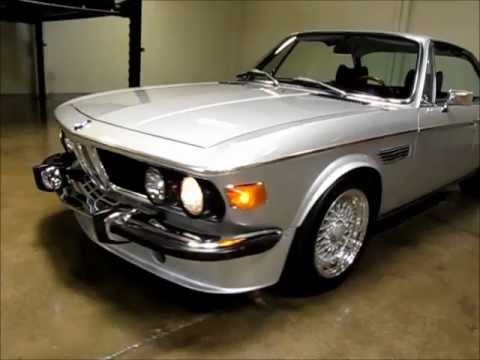 1973 BMW 30CS for Sale Custom CSM6 Conversion  YouTube