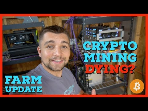 Is Cryptocurrency Mining Dying? GPU | ASIC | VoskCoin Crypto Farm | August 2018