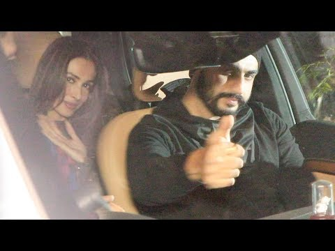Malaika Arora Arjun Kapoor Arrive In Same Car For New Year 2019 Party