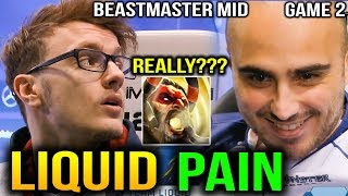 LIQUID vs PaiN - MIRACLE BEASTMATER MID ESL One Birmingham 2018 GAME 2