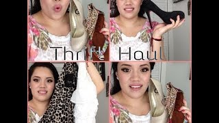 Summer Thrift Haul 2014 Thumbnail