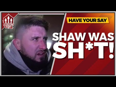 """Luke SHAW Was Sh*t!"" Manchester United 2-0 Brighton"