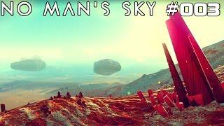 NO MAN'S SKY | Rohstoffe Rohstoffe | #003 | ★ LIVE LET'S PLAY ★ [Deutsch / German]