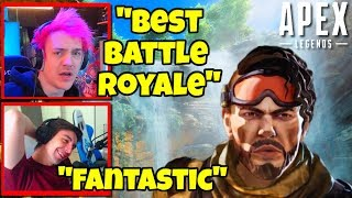 Streamers Honest Review of Apex Legends ~ Ninja, Shroud, DrDisRespect, etc. | Apex Legends Moments