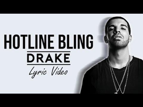 Drake Hotline Bling (Lyrics)