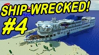 "Minecraft | SHIPWRECK! | ""The Mysterious Ship"""