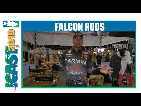 Falcon Rods Lowrider Traveler Rods With Jason Christie | ICast 2019