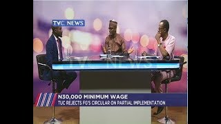 TUC alleges betrayal of trust, rejects partial implementation of minimum wage