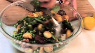 Lemony Potato Salad With Asparagus And Peas