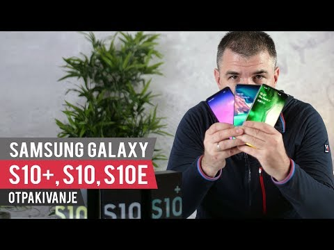 Samsung Galaxy S10+, S10, S10E Unboxing