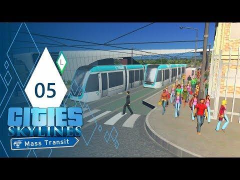 BARCELONA TRAMS | Cities: Skylines Mass Transit | Part 5