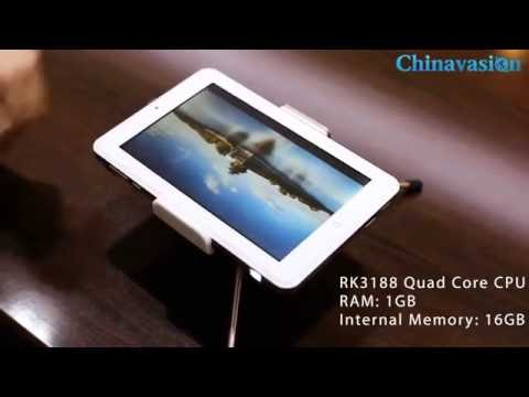 Meidi RK3188 Tablet with 100-lumen Projector