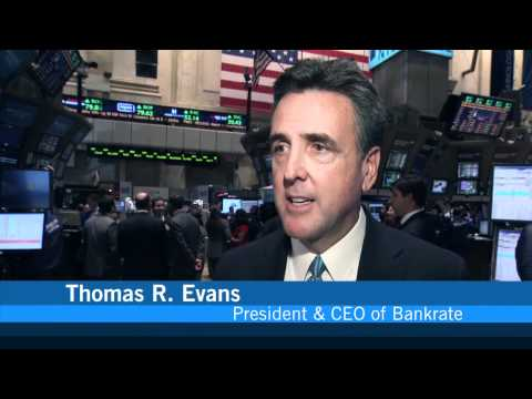 Bankrate's IPO Celebration at the NYSE