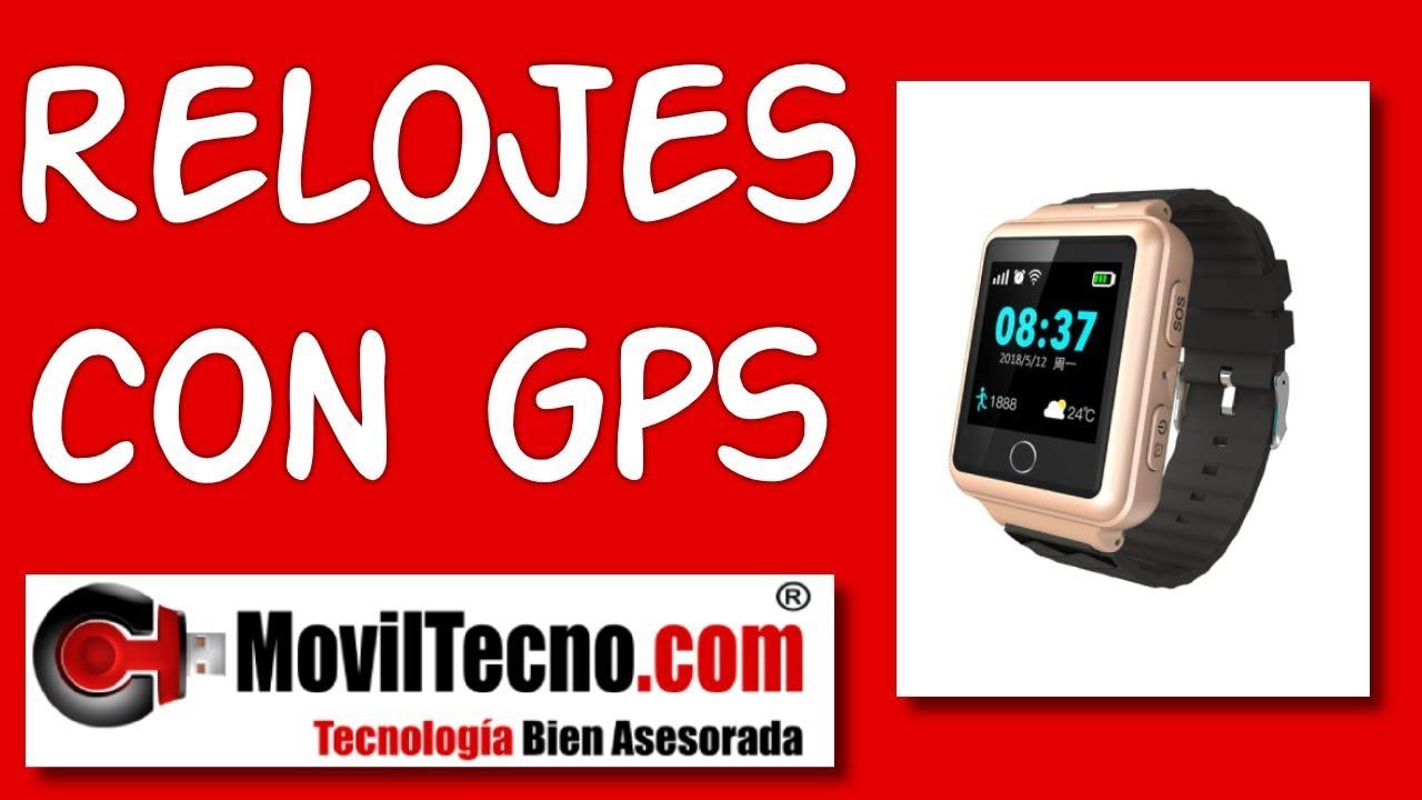 Umeki antepasado SIDA  Relojes GPS para personas con ALZHEIMER – MovilTecno.com - YouTube