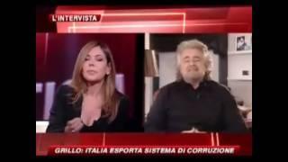 Beppe Grillo: il nostro PIL è fatto di corruzione - parte 2