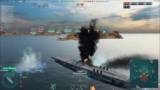 World of Warships Авианосец 'Рейнджер'