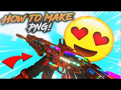 HOW TO MAKE PNG OR TRANSPARENT WEAPONS ON BO4 FOR THUMBNAILS (TUTORIAL) PHOTOSHOP NEEDED!