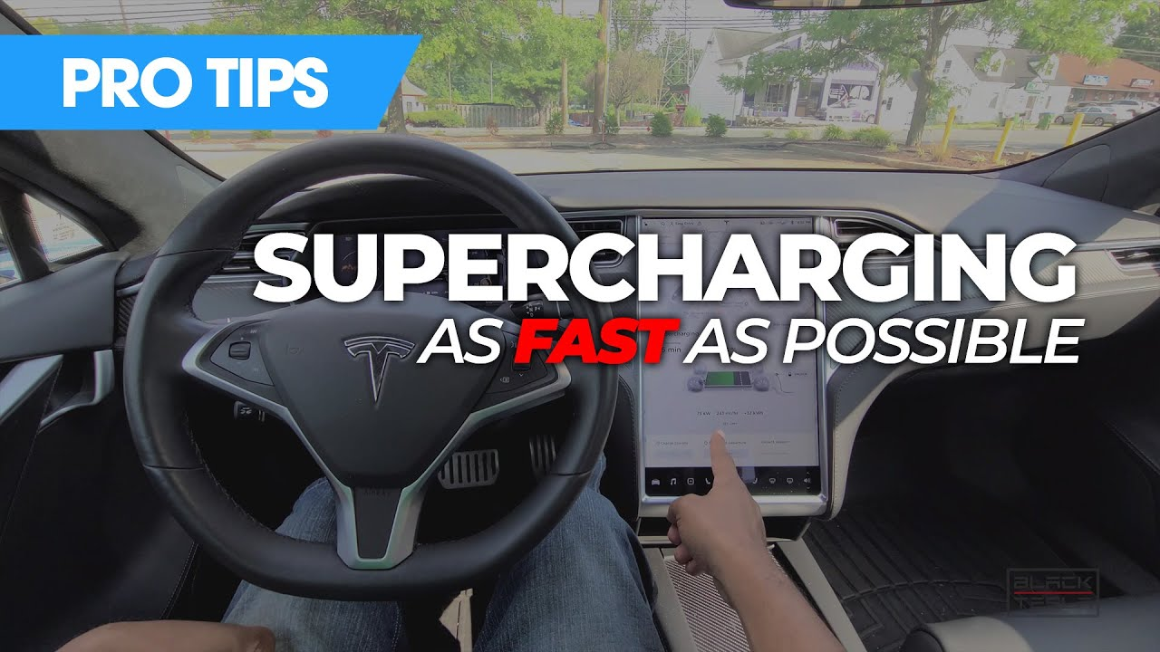Tesla Pro Tips - Supercharging as FAST as possible!