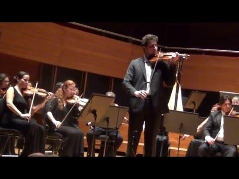 Paganini 1st Concert in D Major - Erten Deniz İspir (1st and 2nd movements)
