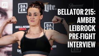 Bellator 215: Amber Leibrock pre-fight interview