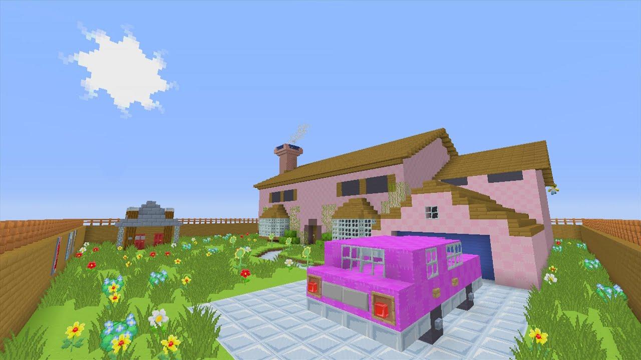 Minecraft Xbox - Murder Mystery - Simpsons House