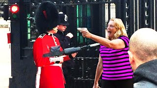 Karen messed with the Wrong Royal Guard.. (BIG MISTAKE)