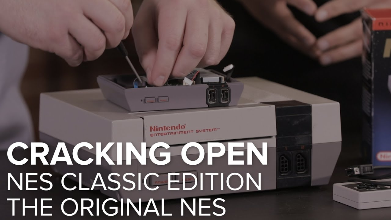 Cracking open Nintendo's NES Classic Edition game console - CNET