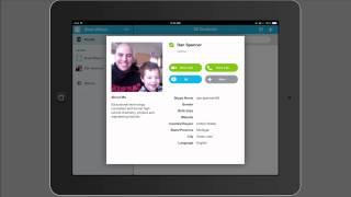 Skype 101 on the iPad for Educators