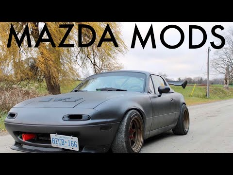 Mazda Miata Mods Beginning VS End
