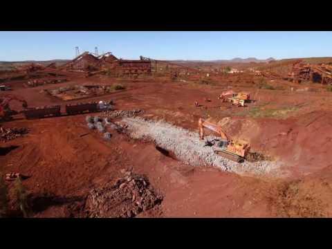 BHP Yandi Mine