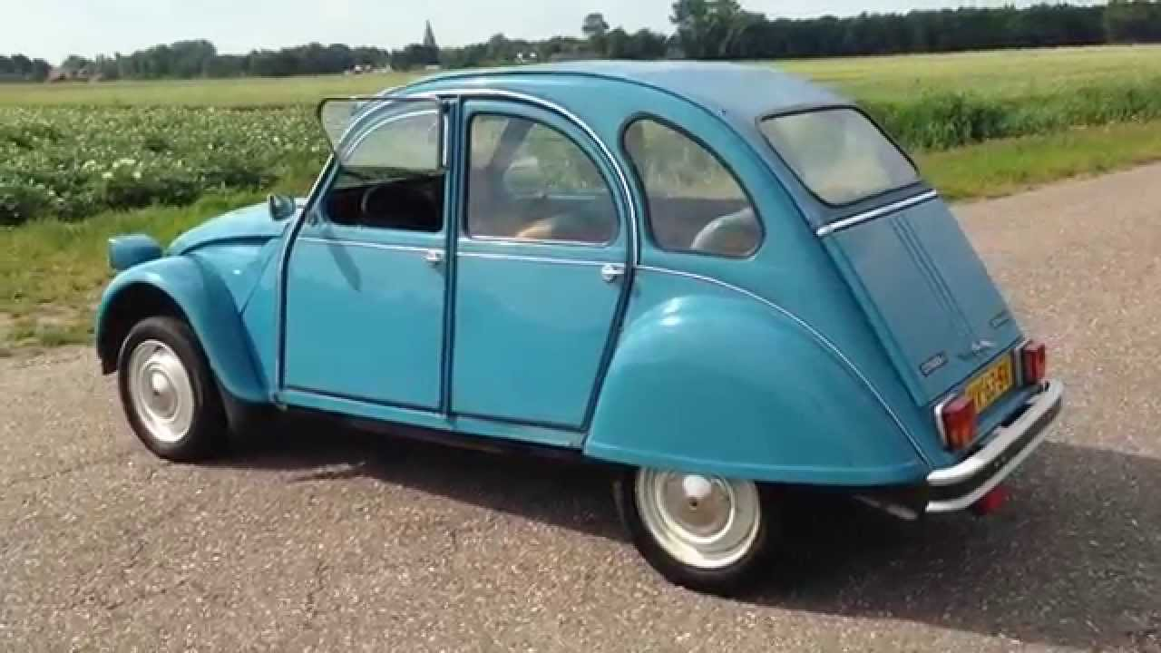 citroen 2cv6 club deux chevaux youtube. Black Bedroom Furniture Sets. Home Design Ideas