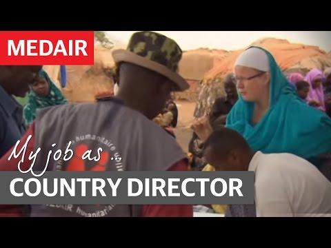 My job as Country Director in Medair's humanitarian relief work (Henrieke)