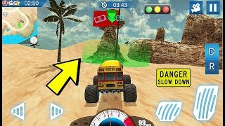 Angry Truck Canyon Hill Race - 4x4 Monster Truck Games - Android Gameplay #2