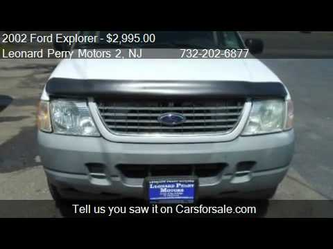 2002 ford explorer xls 4wd for sale in brick nj 08724 for Leonard perry motors nj