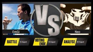 JBB 2015 [4tel-Finale 1/4] - EmGi vs. NEO [ANALYSE]