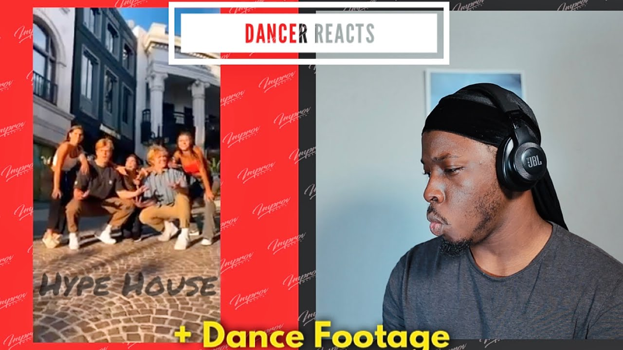 Dancer Reacts To The Hype House Dance Compilation | 2020