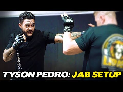 Tyson Pedro   Setting Up Power Strikes With the Jab!
