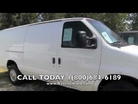 2007 Ford Econoline E 250 Cargo Van Charleston Car Videos Review For Sale Ravenel SC