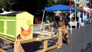 Easy Chicken Coop On Wheels